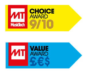 MusicTech Magazine Choice and Value Awards